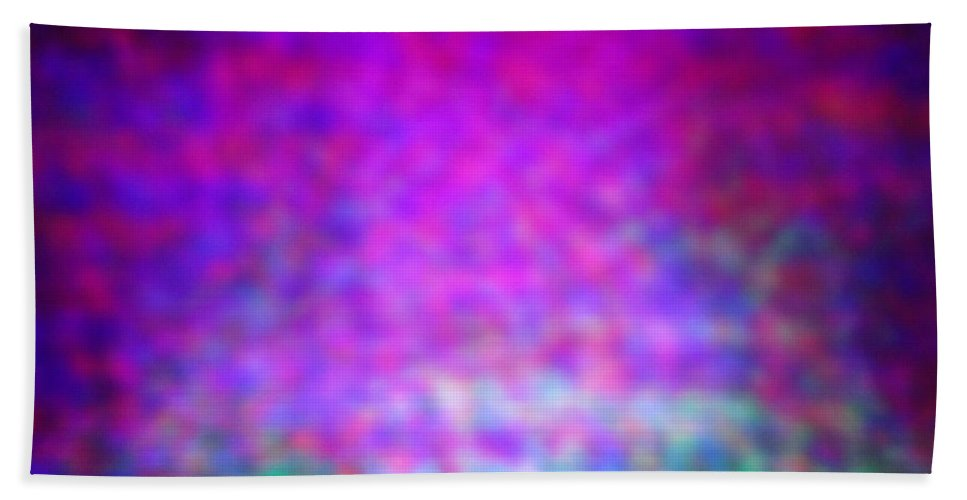 Abstract. Beach Towel featuring the photograph 4-16-18#25 by Mark Mulier