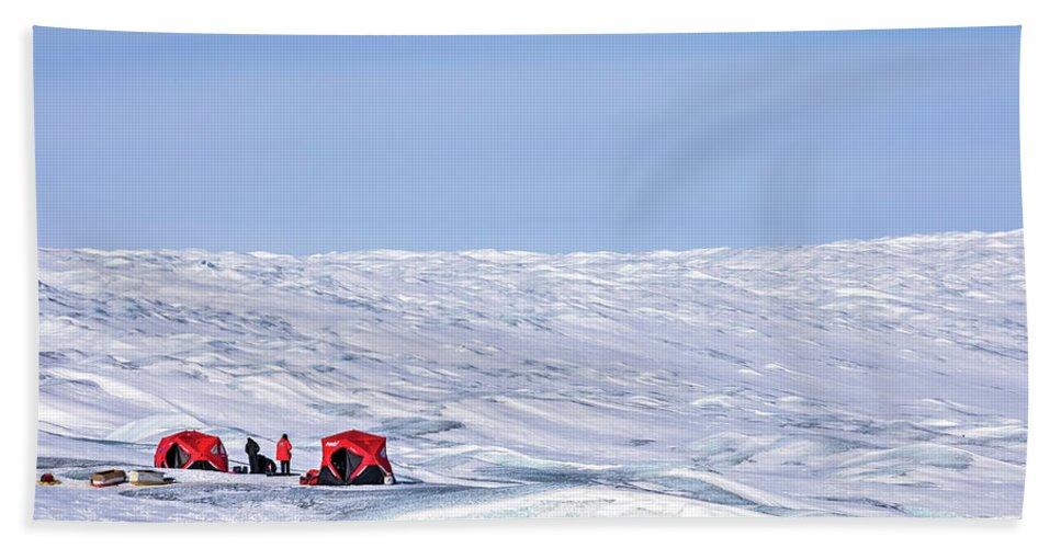 Nasa Beach Towel featuring the photograph Kangerlussuaq - Greenland by Joana Kruse