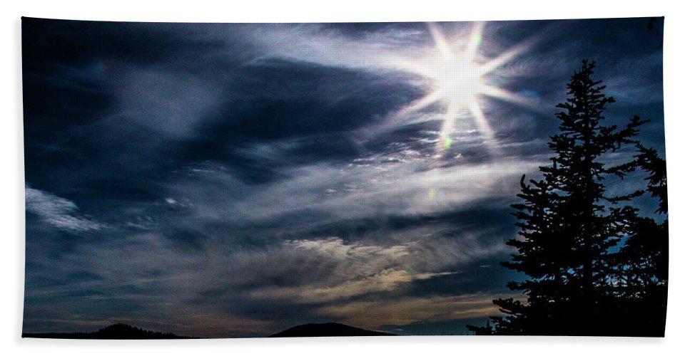 Beach Towel featuring the photograph Waldo Lake by Angus Hooper Iii