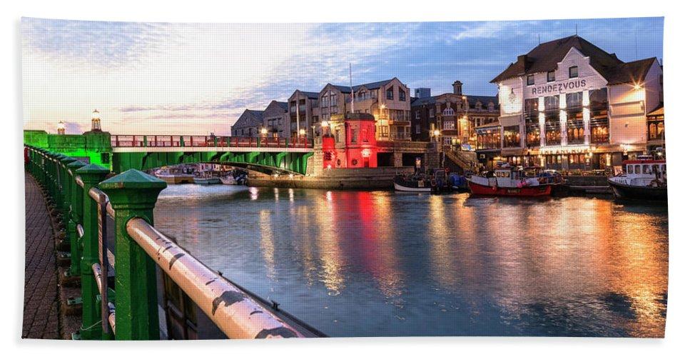Weymouth Beach Towel featuring the photograph Weymouth - England by Joana Kruse