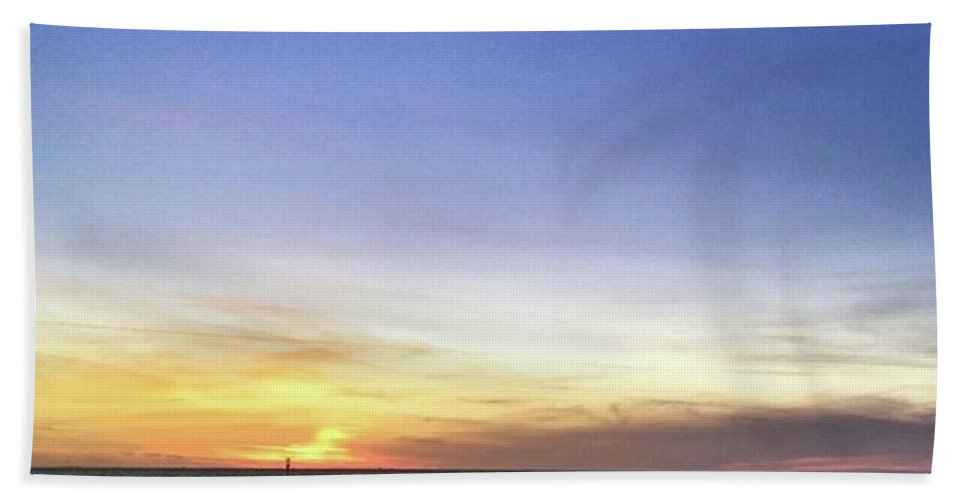 Beach Towel featuring the photograph Instagram Photo by John Edwards