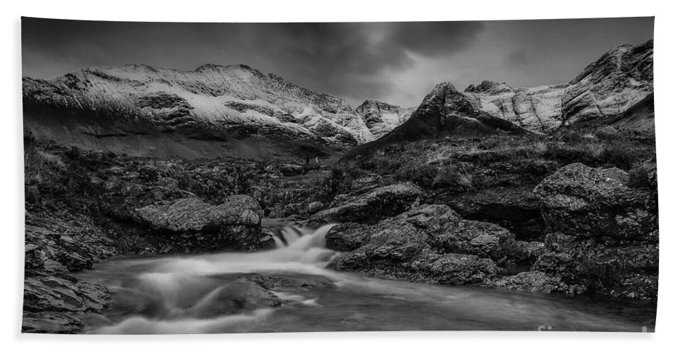 Fairy Pools Beach Towel featuring the photograph Fairy Pools Of River Brittle by Keith Thorburn LRPS EFIAP CPAGB