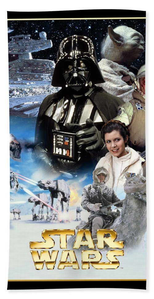 Star Wars Episode V The Empire Strikes Back 1980 Beach Towel For Sale By Geek N Rock