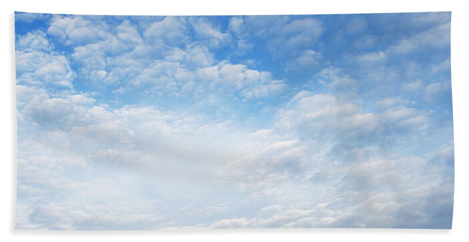 Cloud Beach Towel featuring the photograph Clouds by Les Cunliffe