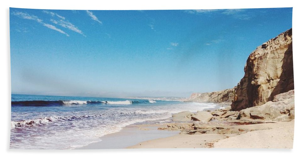 Beach Beach Towel featuring the photograph Beach by FL collection