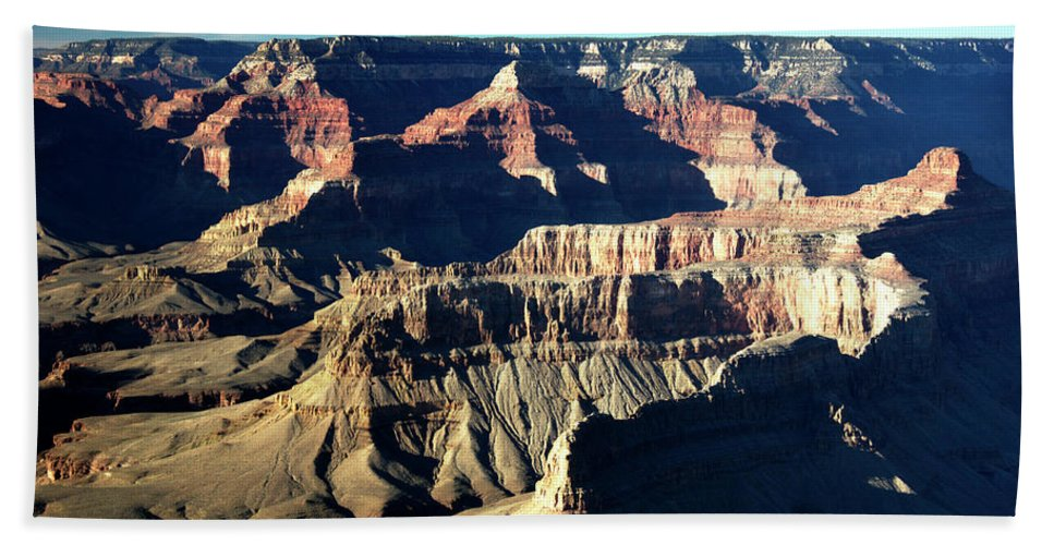 Grand Canyon Beach Towel featuring the photograph Grand Canyon by Paul Cannon