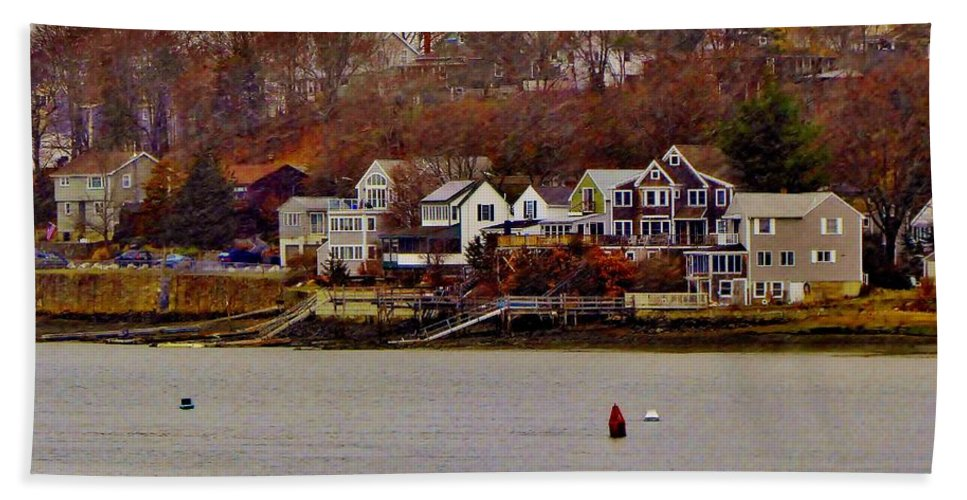 Beach Towel featuring the photograph South Terrace by Scott Hufford
