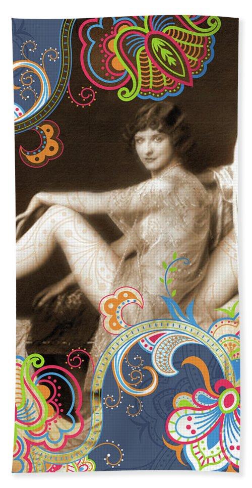 Nostalgic Seduction Beach Towel featuring the photograph Goddess by Chris Andruskiewicz