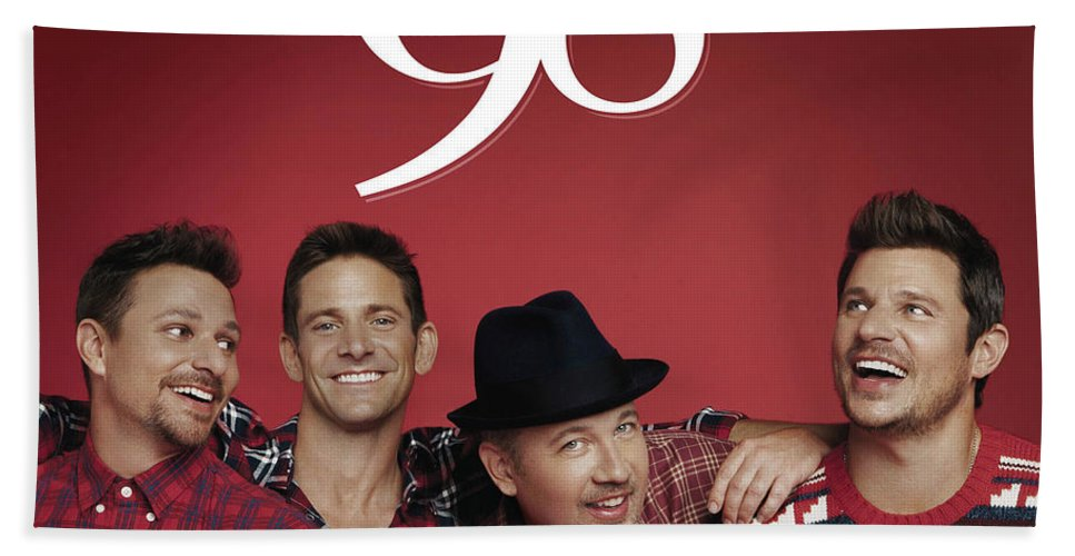 98 degrees let it snow christmas 2017 tour beach towel featuring the digital art 98 degrees - 98 Degrees Christmas