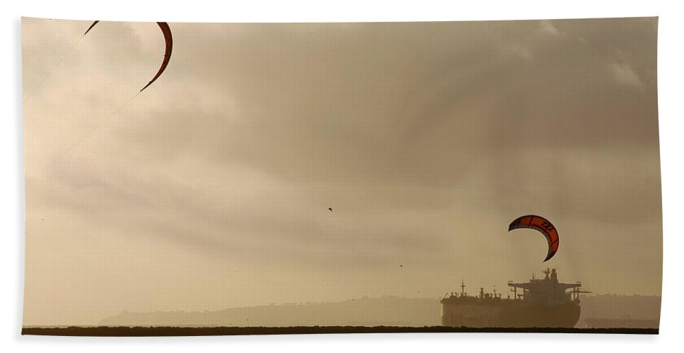Clay Beach Towel featuring the photograph A Day At The Beach by Clayton Bruster
