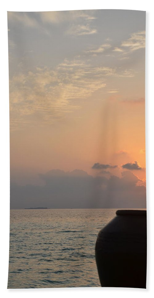 Sunrise Beach Towel featuring the photograph A New Beginning by Corinne Rhode