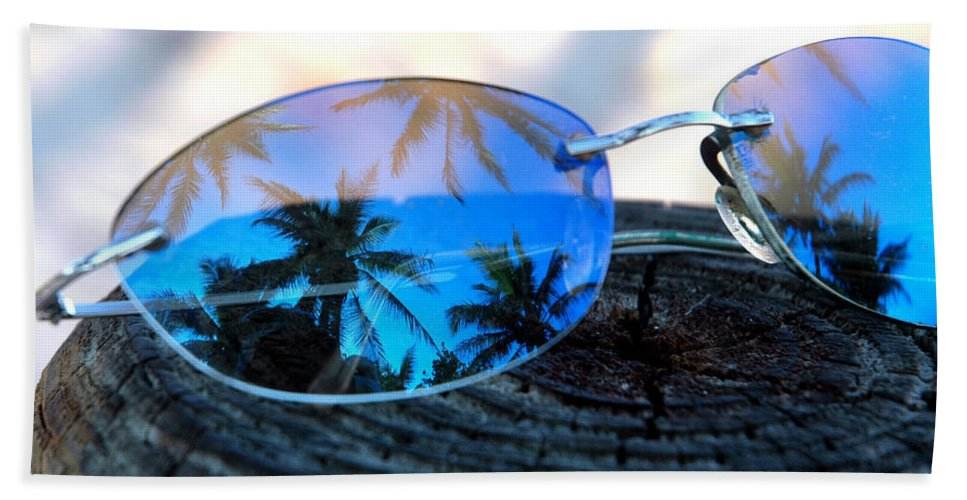 Sunglasses Beach Towel featuring the photograph A Nice Dream by Susanne Van Hulst