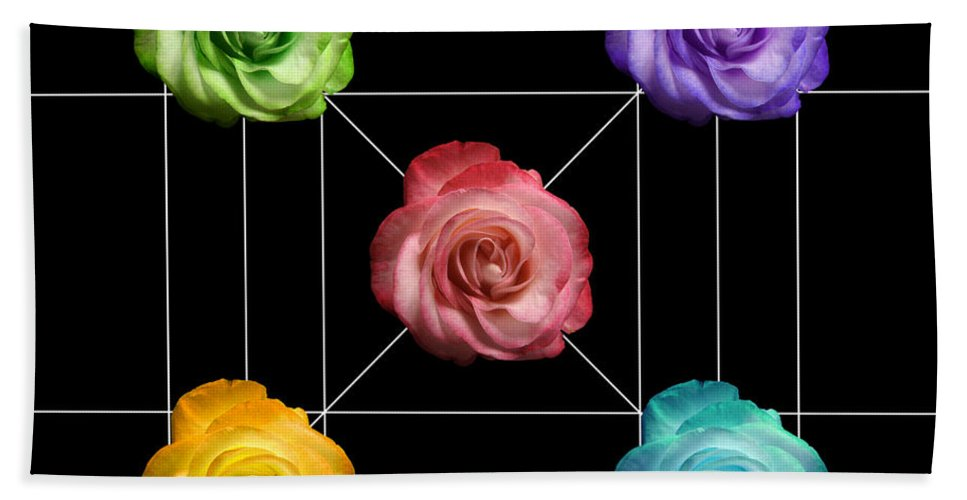 A Rose Is A Rose Beach Towel featuring the photograph A Rose Is A Rose Is A Rose by Peter Piatt
