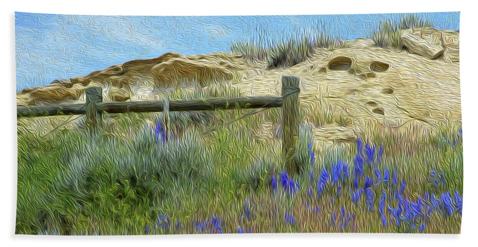 Floral Beach Towel featuring the photograph A Sunday Evening Stroll by Tracie Fernandez