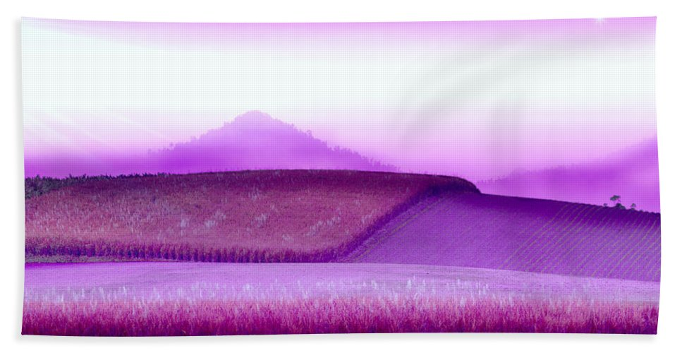 Landscapes Beach Towel featuring the photograph A Sweet Harvest by Holly Kempe