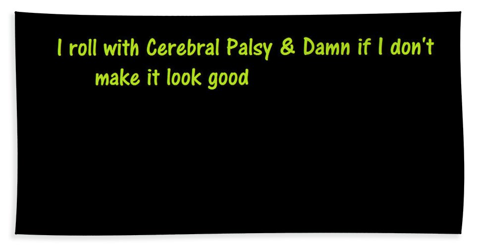 Cerebral Palsy Beach Towel featuring the photograph A Touch Of Truth by Aaron Martens