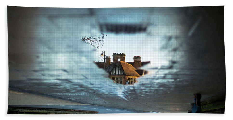 Cape Of Good Hope Beach Towel featuring the photograph A View Into Another World. Oxford, Uk by William Mankelow
