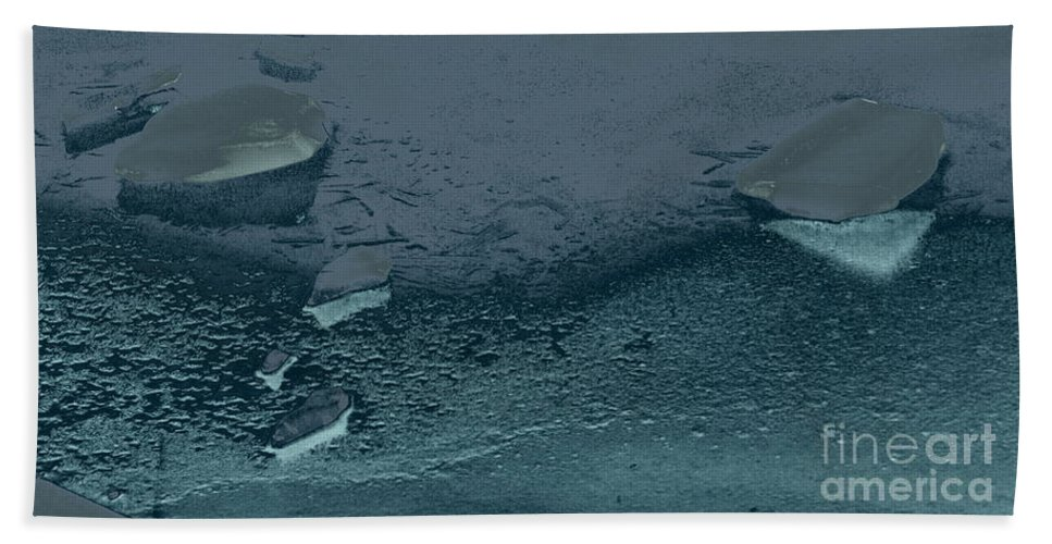 Nature Beach Towel featuring the photograph Above The Water by MJG Products