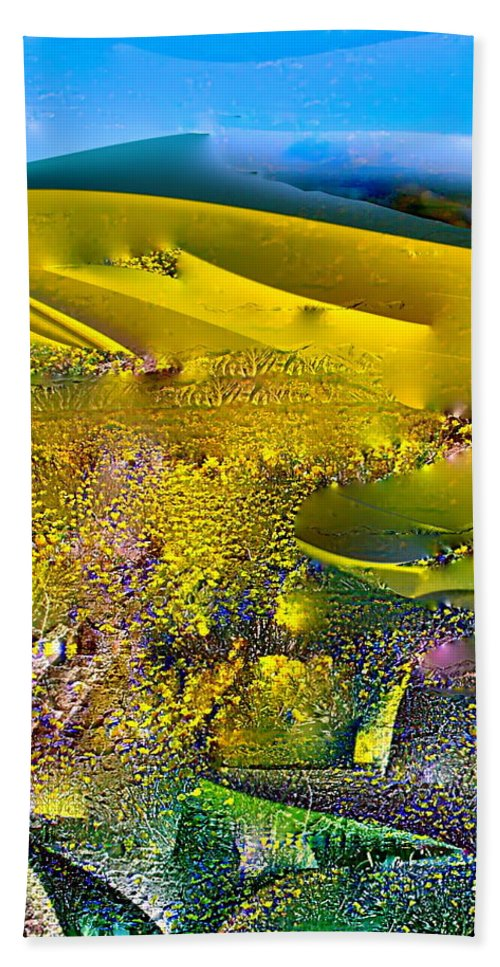 Abstract Beach Towel featuring the photograph Abstract 13 by Pamela Cooper