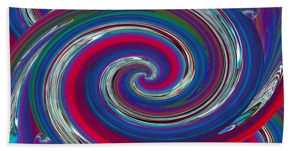 Abstract Beach Towel featuring the photograph Abstract 7 by Tim Allen