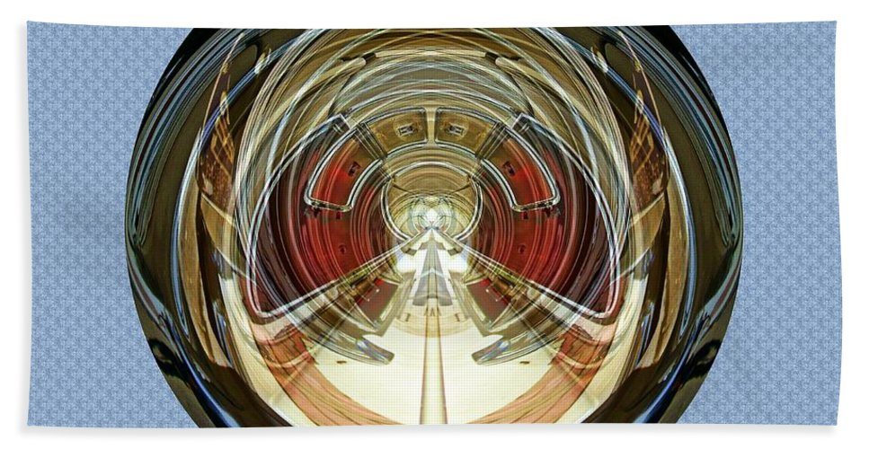 Cars Beach Towel featuring the photograph Abstract Classic Car by Karl Rose