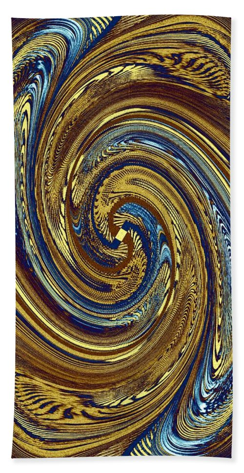 #abstractfusion272 Beach Towel featuring the digital art Abstract Fusion 272 by Will Borden