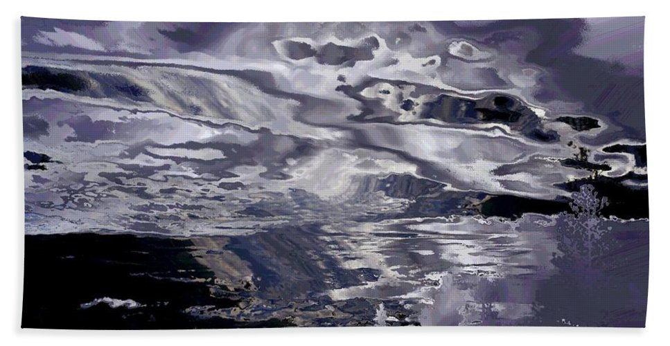 Abstract Beach Towel featuring the photograph Abstract by Jeff Swan