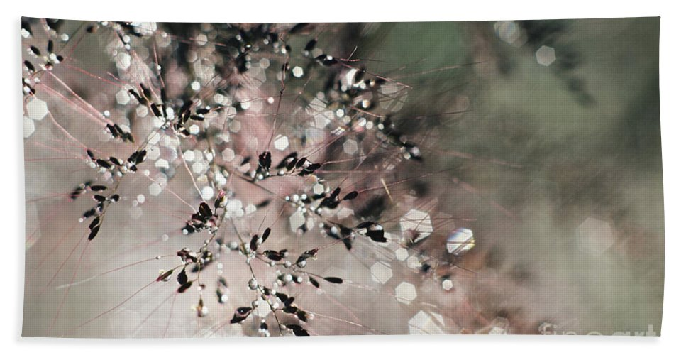Blur Beach Towel featuring the photograph Abstract Plant by Larry Dale Gordon - Printscapes