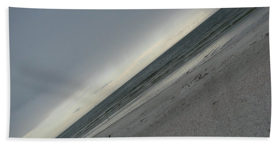 Ocean Beach Towel featuring the photograph Abstract Sea by Amanda Barcon