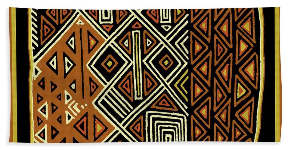 African Kuba View From Earth Beach Towel For Sale By Vagabond Folk Art Virginia Vivier