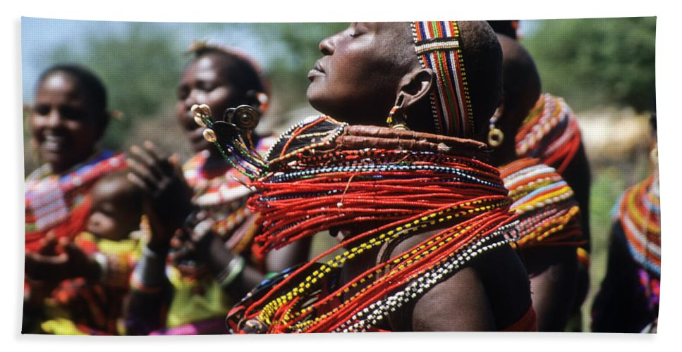 Africa Beach Towel featuring the photograph African Rhythm by Michele Burgess