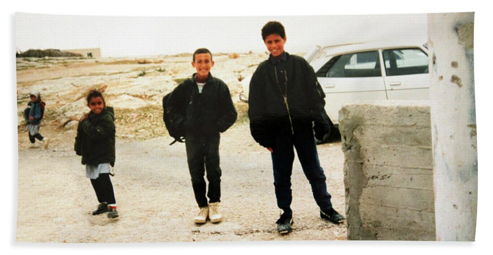 Kids Beach Towel featuring the photograph After School by Munir Alawi
