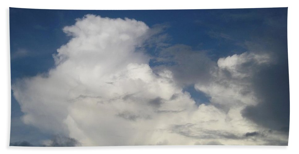 Clouds Beach Towel featuring the photograph After The Rain by Maria Bonnier-Perez