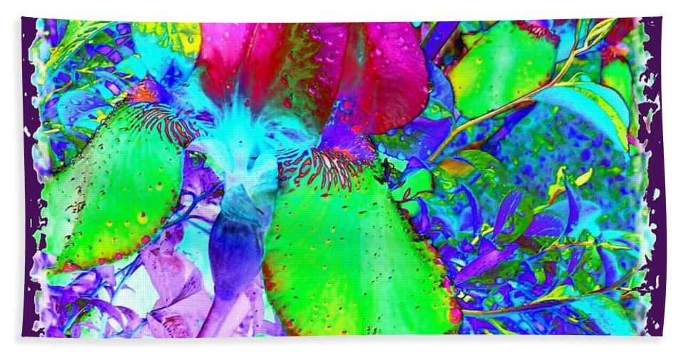 Dramatic Beach Towel featuring the digital art After The Rain by Will Borden
