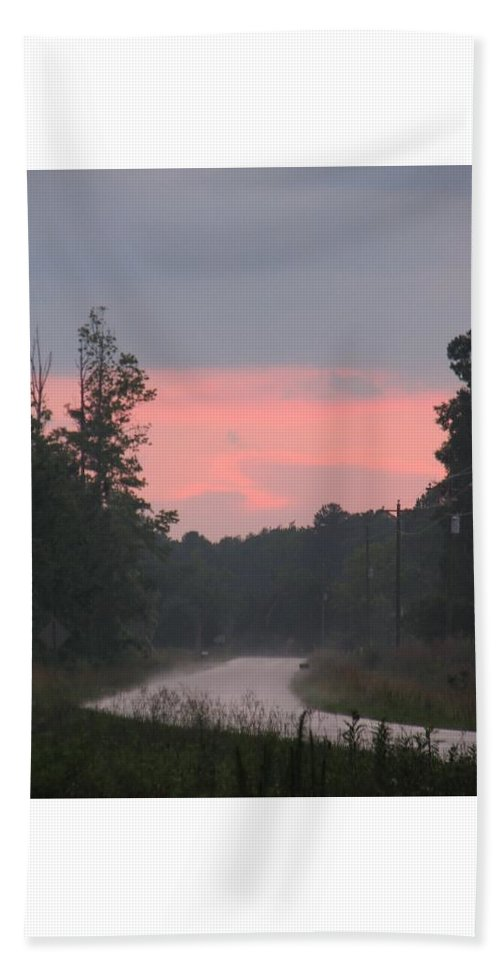 Storm Beach Towel featuring the photograph After The Storm by Kelly Mezzapelle