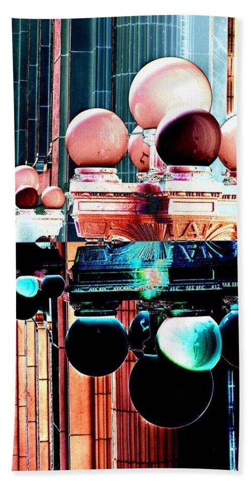 Seattle Beach Sheet featuring the photograph Alaska Building Lights by Tim Allen