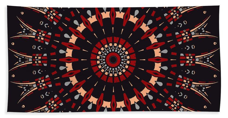 Digital Beach Towel featuring the digital art All Arrows Hit The Bullseye by Joy McKenzie