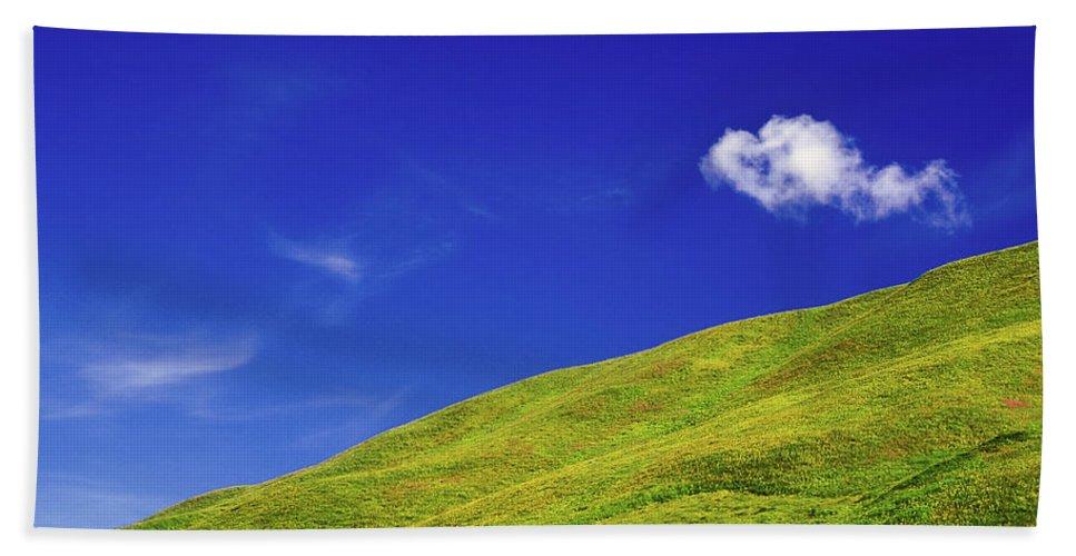 Alone Beach Sheet featuring the photograph Altai by Konstantin Dikovsky