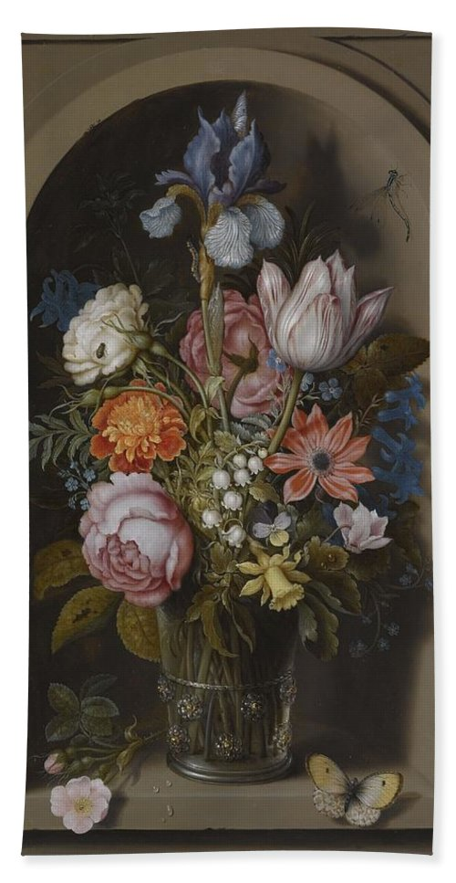 Ambrosius Bosschaert The Elder, Vase With Flowers In A Niche, About on bud vases, graveside vases, us metalcraft vases, floral vases, niche wall art, cemetery vases, niche flower holders,