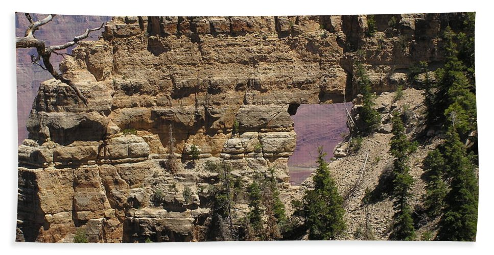 Grand Canyon Beach Towel featuring the photograph Angel by Louise Magno