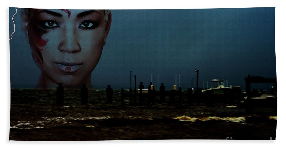 Clay Beach Towel featuring the photograph Angry Sea by Clayton Bruster