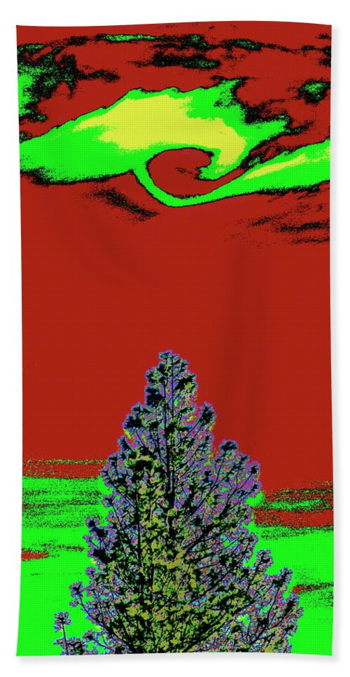 Photo Art Beach Towel featuring the photograph Another World On Earth by Ben Upham III