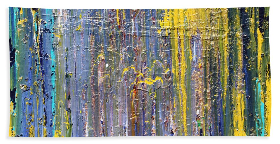 Fusionart Beach Sheet featuring the painting Arachnid by Ralph White
