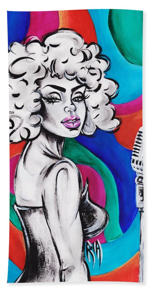 Artistria Beach Towel featuring the photograph Are You Listenin by Artist RiA