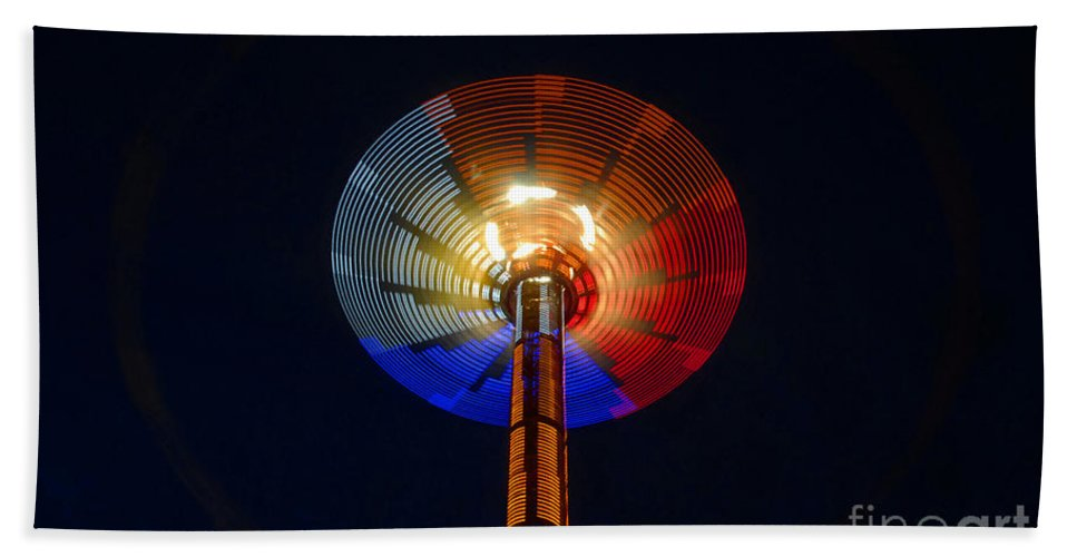 Modern Beach Towel featuring the photograph Area 51 by David Lee Thompson