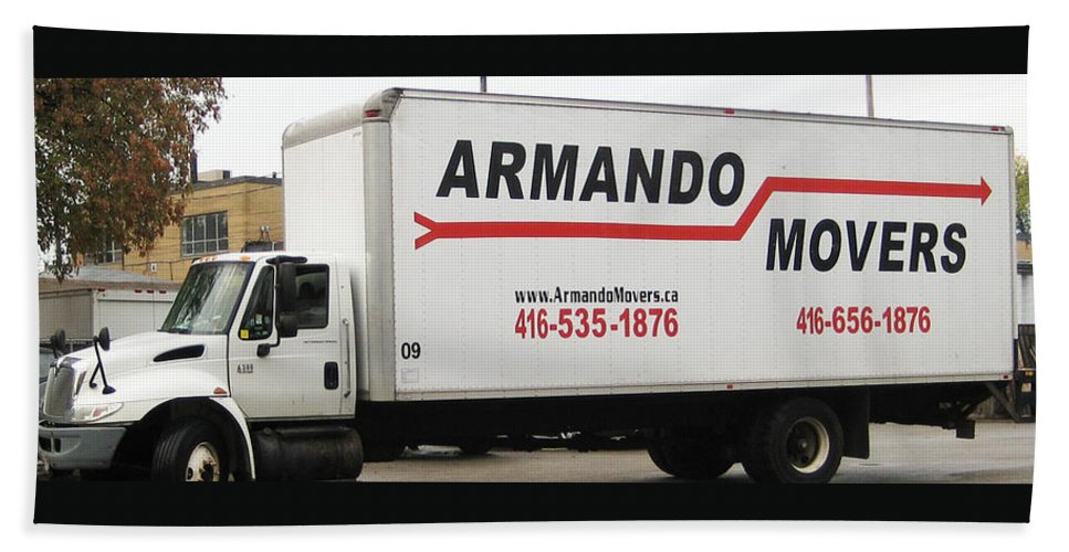 Armando Movers Beach Towel featuring the photograph Armando Movers by Armando Movers