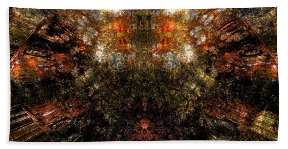 Fantasy Beach Towel featuring the digital art Artifact by David Lane