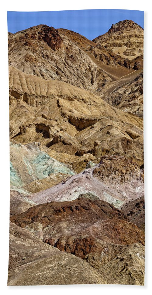 Artists Palette Beach Towel featuring the photograph Artist's Palette by Kelley King