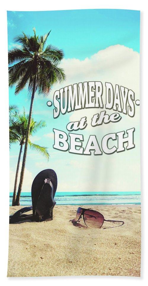 Summer Beach Towel featuring the photograph Summer Days by Nicklas Gustafsson