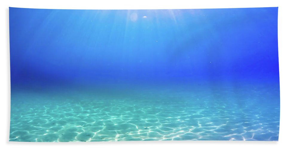 Turquoise Beach Towel featuring the photograph One Deep Breath by Nicklas Gustafsson